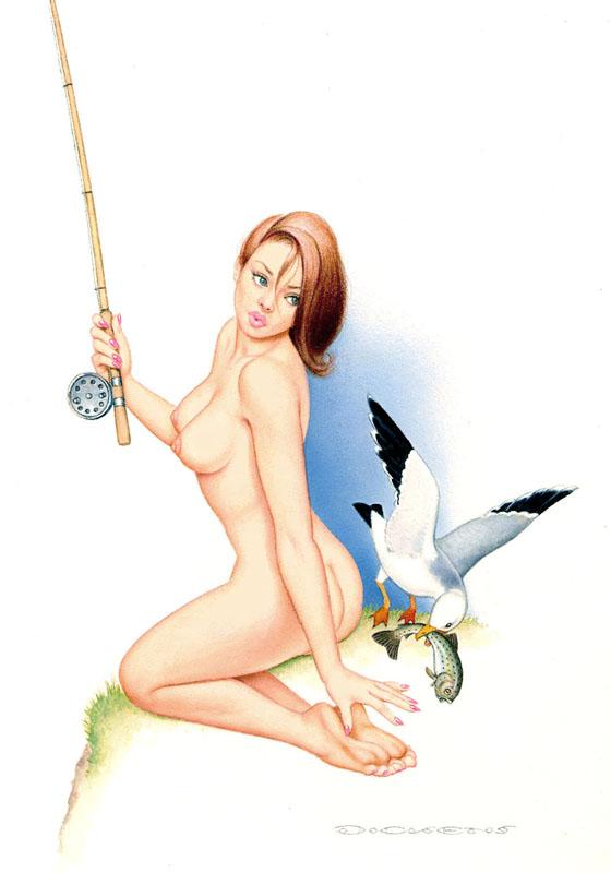 Pic Naked Women Fishing