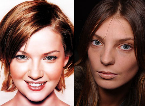 The aesthetics of the nasal bones in European women; Gretchen Mole, Daria Werbowy.