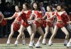 Chinese cheerleaders