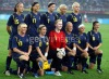 Women soccer players - Sweden